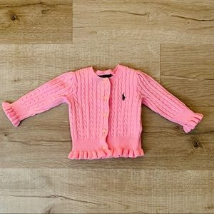 POLO Ralph Lauren Baby Girl Knitted Sweater